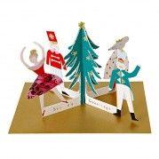 Nutcracker Figures Christmas Card by Meri Meri