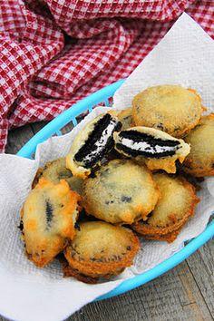 uhh YUMMM . fried oreos! .. so making these.. super simple!