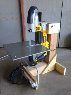 Picture of Bandsaw stand from scrap lumber