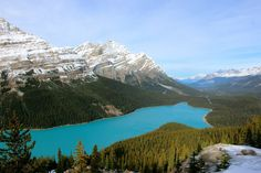 Peyton lake Ten Most Beautiful Places to see in Banff, Canada!