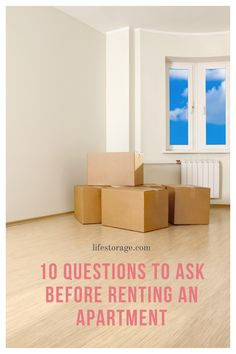What to ask before signing the lease.