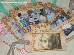 Distressed Donna Down Home: Tattered Tags