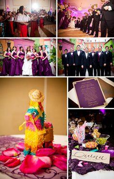 @mikaellabridal | Cinco de Mayo themed wedding