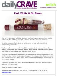 Press | WineStraws | Drink Red. Smile White.