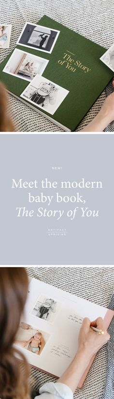 The modern baby book is here.   Meet @artifactuprsng's The Story of You.