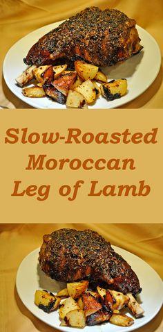 Leg Of Lamb With Moroccan Spices Recipe — Dishmaps