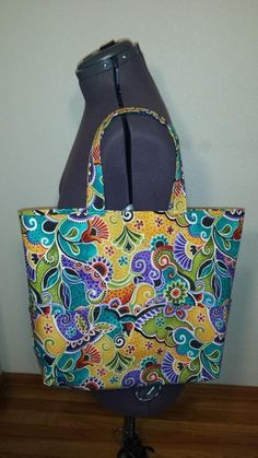 One Yard No Waste Tote Bag - 6 pockets | Craftsy