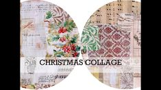 Journal Covers, Journal Pages, Junk Journal, Journals, Christmas Collage, Nov 6, Right Brain, Journal Inspiration, Ephemera