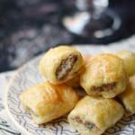 No party is complete without Puff Pastry Sausage Rolls, they are everyone's favorite appetizer! © COOKING WITH CURLS