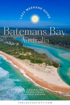 Batemans Bay, located in the south coast of Australia, is perfect for a lazy weekend getaway anytime of the year but especially in the summer time. This coastal town is surrounded by a selection of unspoilt and uncrowded beaches in a natural environment. Click through to see our expert tips for Batemans Bay. #australia #southcoast #batemansbay #australianbeaches #aussieescape Coast Australia, Visit Australia, Australia Travel, Weekend Getaways In The South, Romantic Weekend Getaways, Beautiful Places To Travel, Best Places To Travel, Australia Destinations, Sydney Beaches