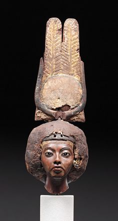 Amarna Period: (Society for the Promotion of the Egyptian Museum Berlin) Queen Tiy