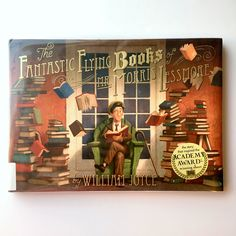 The Fantastic Flying Books of Mr. Morris Lessmore  Written by William Joyce [Book Review on jactionary.com]