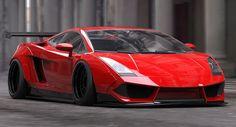 Liberty Walk's Treatment Of The Lamborghini Gallardo Is Anything But Subtle
