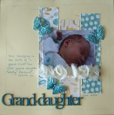 Using one of our kits for a gorgeous pic of my grand-daughter