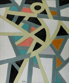 American artist Paul Bodin (1901-1994) was an abstract painter associated with the New York School and Color-Field painting. Though he stu...