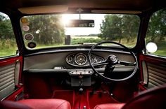 Posts about mini cooper written by inspiredpixel Old Mini Cooper, Mini Cooper Classic, Cooper Car, Classic Mini, Classic Cars, Mini Clubman, Mini Countryman, My Dream Car, Dream Cars