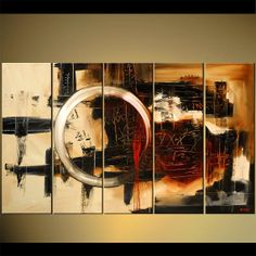Original Contemporary Abstract Acrylic Painting on by OsnatFineArt, $749.00