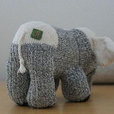 ellie the sock elephant #Sockanimals