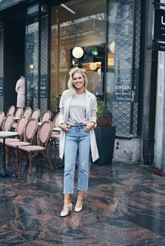 Isabella Löwengrip - Looks Pretty Outfits, Cool Outfits, Fashion Outfits, Women's Fashion, Boyfriend Jeans Outfit, Mom Jeans, Easy Clothing, Perfect Wardrobe, Dress For Success