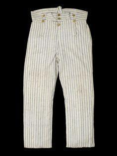 Rating's trousers - National Maritime Museum ca.1810