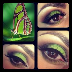 Makeup artist Betty Robles used #Sugarpill Acidberry eyeshadow to complete her beautiful butterfly inspired look!
