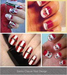Perfect nail design for christmas