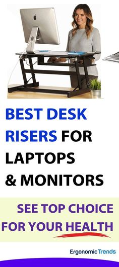 Desktop stands offer all the ergonomic benefits of an adjustable height desk at a fraction of the cost, and without the need to replace your existing desk. They can range from simple risers that raise the height of your monitor and peripherals to keep them at eye level, to an entire platform to raise your workspace upwards as you stand.  See our list of the best desk risers and stands to make you more productive and healthy at the same time.