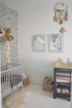 #deco #chambre #enfant Papier Peint Humming Birds De Cole And Son  Inspiration Chambre