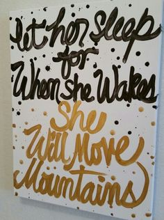 Motivational canvas by Lezley Lynch Designs, Edmond, OK in collaboration with designer Ronette Wallace.