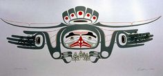 By seattle native american artist barry herem an original for Native american tattoo artist seattle