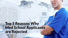 The medical school admissions process is highly competitive, and many times even top students don't get in. So, why so much medical school rejection?