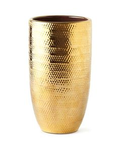 Net+Textured+Large+Gold+Vase++by+AERIN+at+Neiman+Marcus.