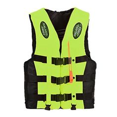Boating Vest - Dalang Times Boating Ski Vest Adult PFD Fully Enclosed Size Adult…