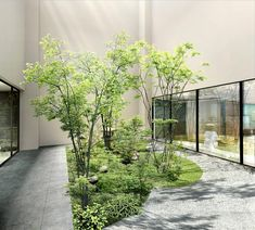Located in Kyoto, within miles of Kyoto International Manga Museum and miles of Sanjusangen-do Temple, ENSO ANGO FUYA Ⅱ provides free WiFi. Courtyard Design, Garden Design, Contemporary Garden, Interior Garden, Fun Drinks, Kyoto, Exterior, Garden Landscaping, Future House