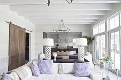 royall avenue, heather a wilson architect, lagoon pool, horizontal planking woodwork, white exterior