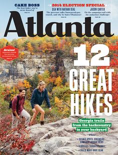 Explore Georgia with these 12 Great Hikes from the Atlanta Magazine!