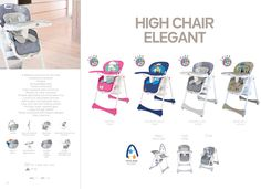 High Chair Elegant by Asalvo l #madewithlove