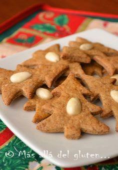 Más allá del gluten...: Galletas de Jengibre (Receta GFCFSF, Vegana)