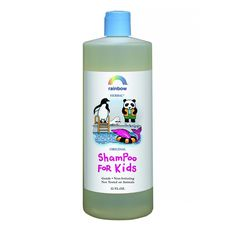Rainbow Research Kids Shampoo - Original Scent - 32 oz - GentleGluten FreeNon-IrritatingRainbow Original Kids ShampooIs formulated using the most gentle and non-irritating ingredients available. Our shampoo brings out the natural shine and adds body to the hair. made with biotin for hair strength and balsam for conditioning. Natural fragrances derived form essential oils.No Animal Testing, Artificial ColorsOur bottles are BPA freeFor ages 2 and up.Ingredients: Purified water, sodium myreth…