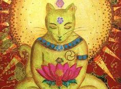 Para el budismo, los gatos representan la espiritualidad, son seres iluminados capaces de trasmitir calma y armonía para enriquecer nuestras vidas.