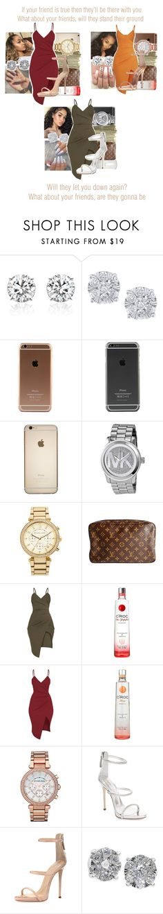 """What About Your Friends x TLC"" by juicyums ❤ liked on Polyvore featuring Effy Jewelry, SEN, Michael Kors, MICHAEL Michael Kors, Louis Vuitton, Giuseppe Zanotti and Pretty Little Thing"