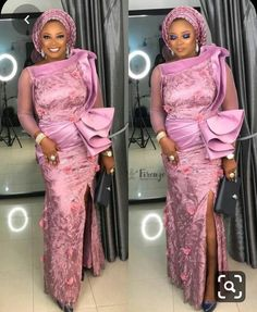 Enchanting aso ebi styles that will inspire you - Opera News Official Aso Ebi Lace Styles, African Lace Styles, Lace Gown Styles, Latest Aso Ebi Styles, African Lace Dresses, Latest African Fashion Dresses, African Clothes, Ankara Styles, Cord Lace Styles