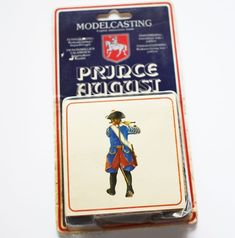 Vintage Prince August mold, made by Prince August Moulds Ltd.