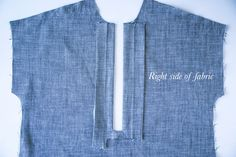 Tunic or popover placket sewing tutorial // Kalle Shirtdress Sewalong // Closet Case Patterns