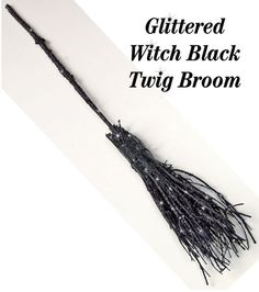Our Glitter Witches Broom is half price, just in time for hour Halloween celebration at KP Creek!