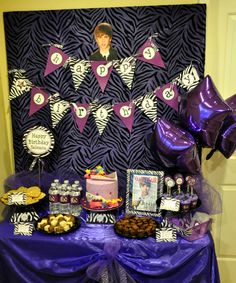 Justin Bieber Party Supplies Justin Bieber Birthday Party City