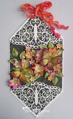 Heartfelt Creations | Butterfly Medley Wall Hanging