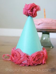 diy project how to make a fabric covered party hat tikkido com