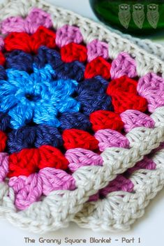 Crochet - The Granny Square Blanket Part 1
