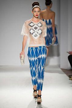 GIO KATHLEEN: Paola Frani SS2014 Milan Fashion Week